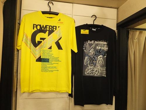 追加写真・Tシャツ2